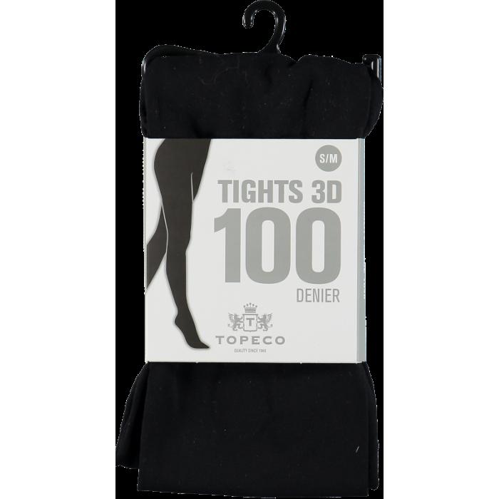 Tights 3D Black